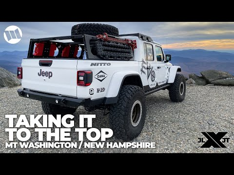 Jeep Gladiator Truck Overland by EVO Mount Washington New Hampshire Nitto JL JT Experience Part 6