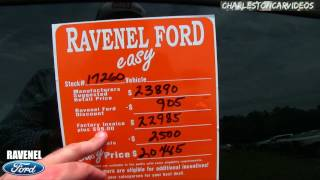 Reviewing The 2017 Ford Fusion S | Pricing Review & Car Dealership Walk Around @ Ravenel Ford