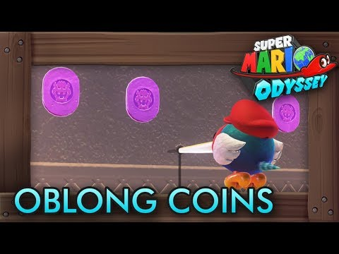 Super Mario Odyssey - All Purple Oblong Coins (Bowser's Kingdom)