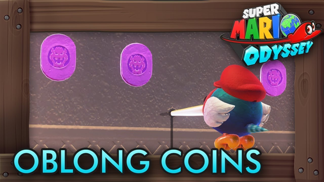 Super Mario Odyssey All Purple Oblong Coins Bowser S Kingdom