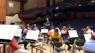 Tchaikovsky: Romeo & Juliet - Santonja - [at rehearsal]