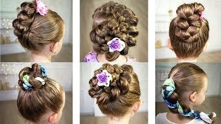 Super easy summer hairstyle! For 2-minutes! - Простые летние прически.