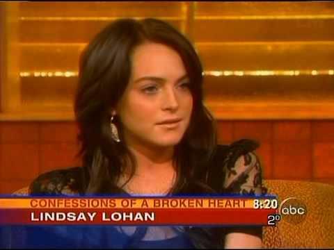 Lindsay Lohan Good Morning America Interview 2005
