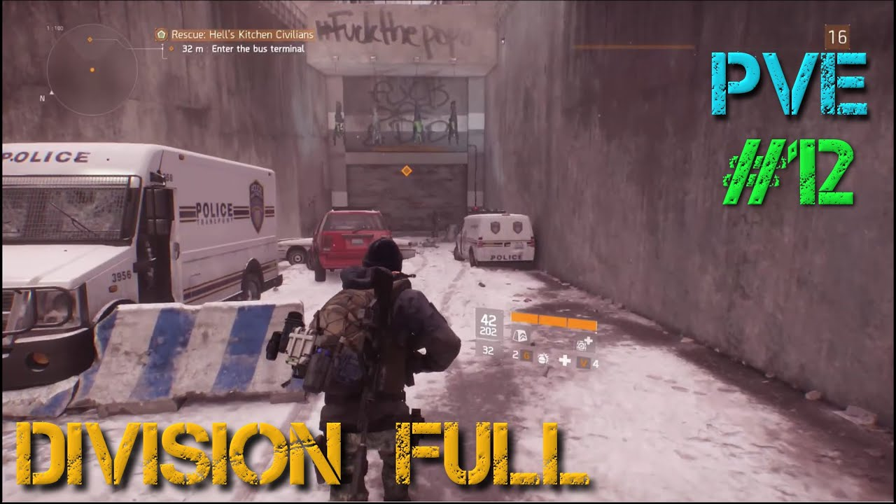 the division let s play pc part 12 missions in hell s kitchen