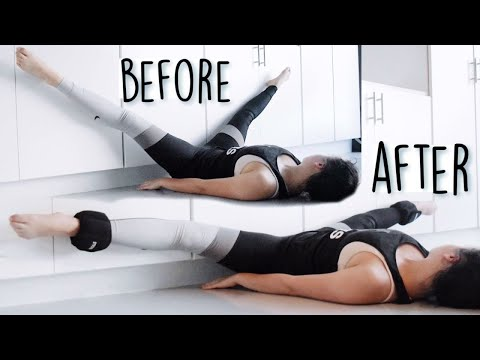 Intense middle split stretching routine