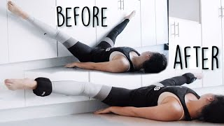 Download Intense middle split stretching routine Mp3 and Videos