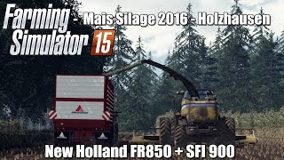 "[""New Holland FR850 + SFI 900"", ""New Holland FR850"", ""Mais Silage 2016 New Holland FR850"", ""CASE Quadtrac STX450"", ""JCB Fastrac - Farming Simulator 15"", ""New Holland FR850 + SFI 900 & CASE Quadtrac STX450"", ""Maishackseln 2016 New Holland FR"", ""Mais Silage"