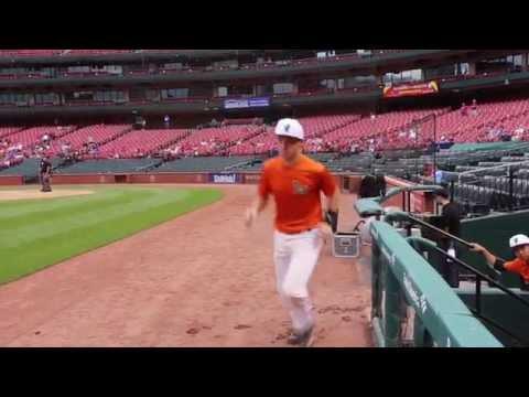 Baseball at Busch Player Intros