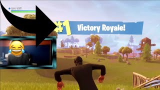 *OMG* Console Player Plays Solo Squads and Wrecks   Fortnite Battle Royale Solo Squads WIn