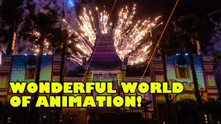 4K Wonderful World of Animation! NEW Show! Disney's Hollywood Studios