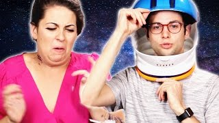 People Try Novelty Astronaut Desserts