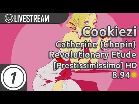 Cookiezi going GOD MODE on Revolutionary Etude [Prestississimo] 8.94* Almost Pass | Livestream!