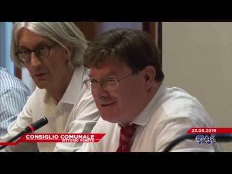 CONSIGLIO COMUNALE VITTORIO VENETO - Seduta del 23.08.2019