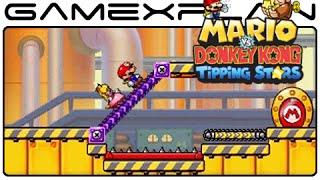 Mario vs Donkey Kong: Tipping Stars - World 3 Gameplay (3DS)