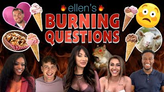 Netflix's 'Too Hot to Handle' Stars Take On Ellen's 'Burning Questions'