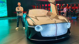 NEW Bentley EXP 100 GT - First Look!