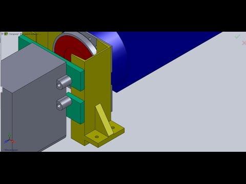 Соединение двигателя с корбкой