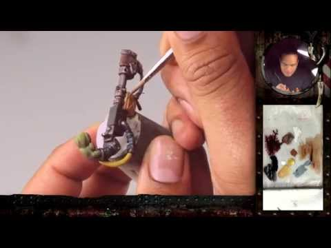 "PBCC 001 ""Ork Burna Boy"" Part 2: How to paint True Metal & Weathering Effects"