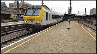 IC507 (Oostende - Eupen) at Bruxelles-Midi/Brussel-Zuid