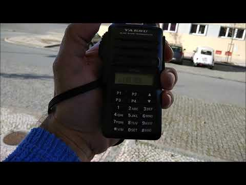 AO-91 satellite over Portugal with very strong signals
