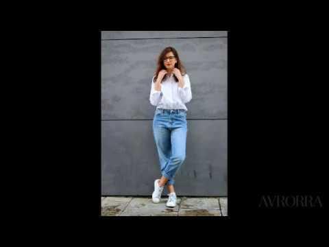 50 Идей, с чем носить женские джинсы-бойфренды