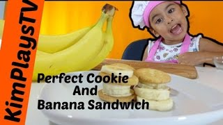 How To Make A Perfect Cookie And Banana Sandwich The Hulk Gets Smashed