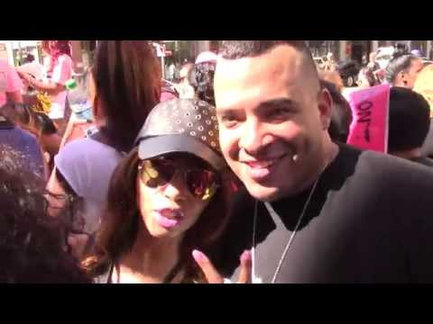 Blogger Jason Lee from Love and Hip Hop: Hollywood is spotted at SlutWalk