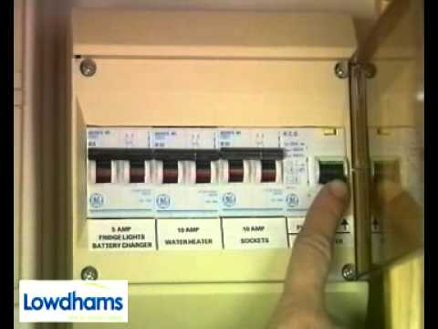 How To Use A Caravan 6 Internal Systems Electrics YouTube – Caravan Electrics Wiring Diagram