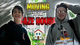 MOVING TO THE FAZE HOUSE?! *w/ Faze Banks, HighSky + MORE*