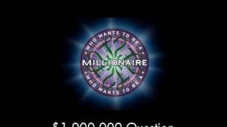 $1,000,000 Question - Who Wants to Be a Millionaire?
