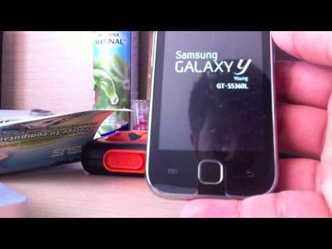 software  samsung galaxy y