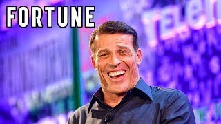 Brainstorm Health 2018: The Secret to Tony Robbins' Success I Fortune