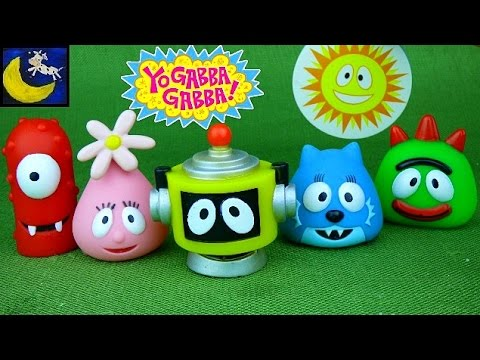Yo Gabba Gabba Bath Toys 46