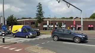 Verkeersdrukte in Rotterdam door werkzaamheden aan A4