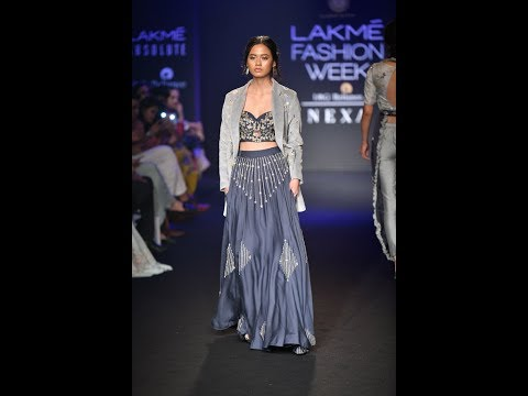 Lakmé Fashion Week winter festive 2018 Gaurav Katta Collections India