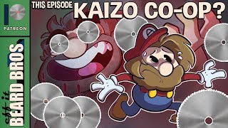 Eff It Beard Bros | Co-Op Kaizo Craziness Take 3 | Super Beard Bros.