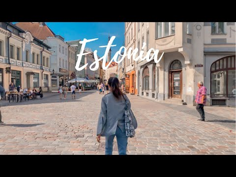 [Laid-off cabin crew vlog] Day trip to Tallinn, Estonia from Finland (iphone 8+ filmed)