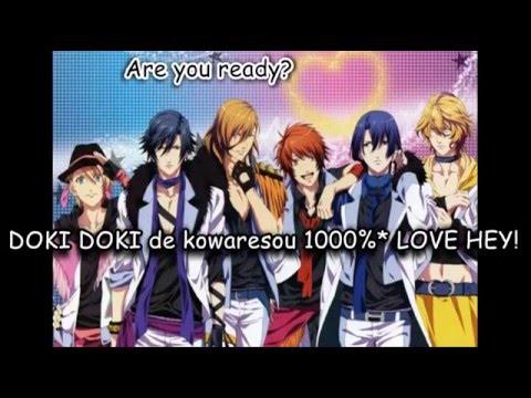 Starish - Maji Love 1000% (Japanese Lyrics)