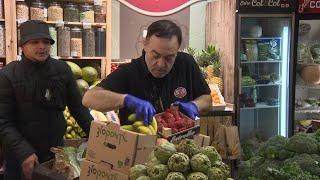 Las donaciones de fruta inundan Madrid por segundo viernes consecutivo
