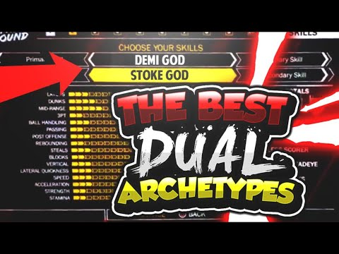 *MUST WATCH* BEST DUAL ARCHETYPE IN NBA 2K18 THAT NO ONE KNOWS...