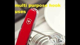 victorinox uses-Multipurpose Hook-strength test all subtitles Ελληνικοι υποτιτλοι