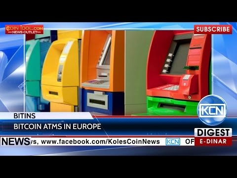 KCN: BitIns installs bitcoin ATMs in Europe