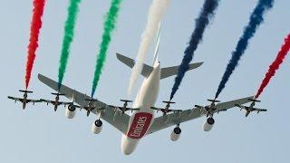 Україна представляє літаки ДП ''Антонов'' на міжнародному авіашоу в Дубаї