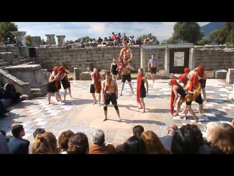 Ancient Messene R A D A  The Eumenides Aeschylus a 22 4 2015