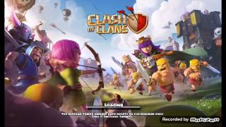 Clash of clans my first video in youtube