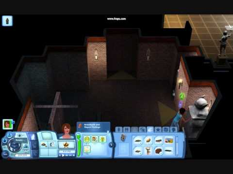 the sims 3 world of adventures france museum tomb youtube. Black Bedroom Furniture Sets. Home Design Ideas