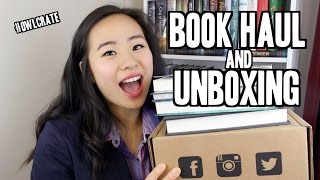 BELATED SPOOKY UNBOXING & BOOK HAUL