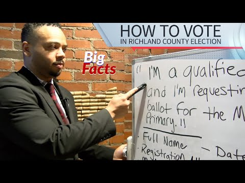 Big Facts: How To Vote In Ohio Election