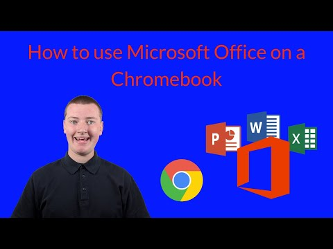 How To Use Word On Chromebook (and Other Microsoft Office Apps)