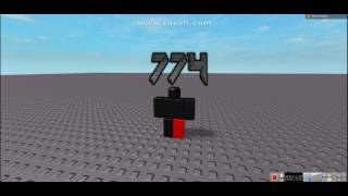 ROBLOX / New Exploit 774 / (Maybe Patched)